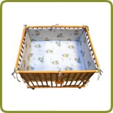 Rectangular playpen insert blue - Per imparare a camminare, Cancelletti di sicurezza e box
