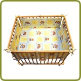 Rectangular playpen insert yellow - Per imparare a camminare