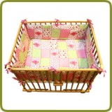 Rectangular playpen insert rose - Per imparare a camminare